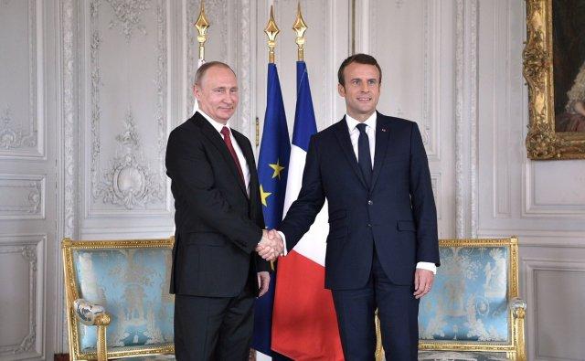 Владимир Путин отправится с визитом во Францию