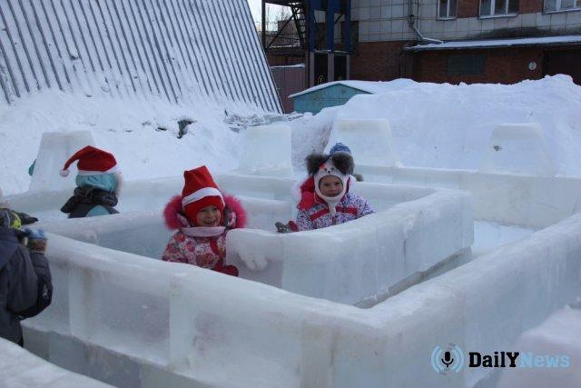 Ледовый городок появится в одном из городов сахалинской области