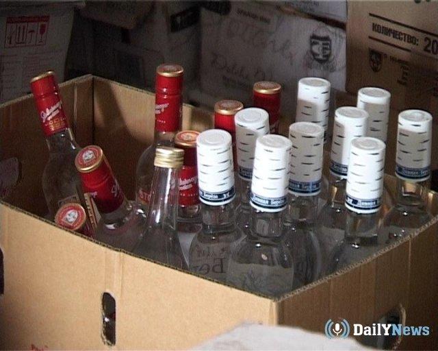 В Ярославле провели изъятие контрафактного алкоголя