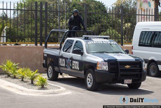 В Мексике произошла перестрелка вблизи курортных отелей