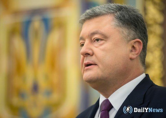 Петр Порошенко рассказал о планах продления военного положения