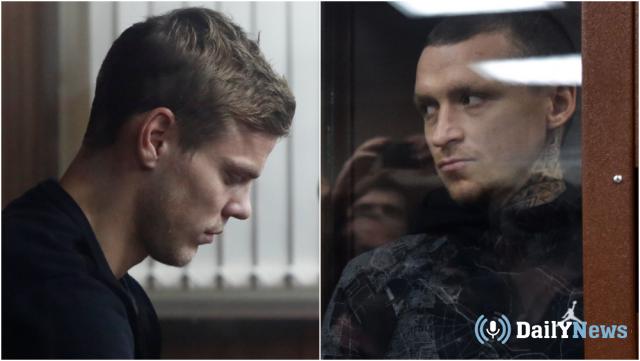 Мамаев и Кокорин встретят Новый 2019 год в тюрьме