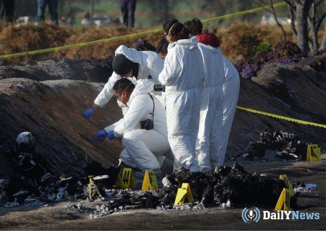 В Мексике продолжает расти число пострадавших после взрыва трубопровода
