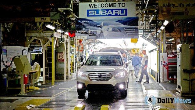 Представители компании Subaru сообщили о прекращении производства автомобилей.
