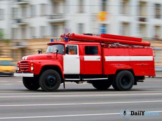 Во время пожара в Тверской области пострадали два человека