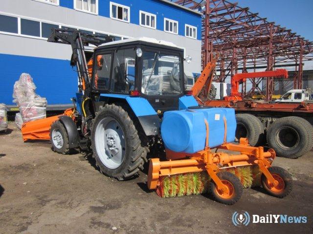 Снегоуборочный трактор в Сургуте сбил пенсионерку