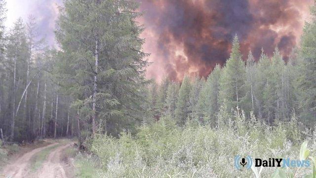 В нескольких районах Якутии пожары стали причиной введения режима ЧС
