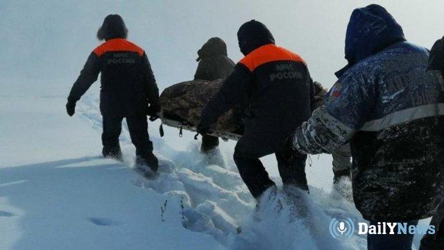 Спасатели в Туве спасли мужчину от обморожения