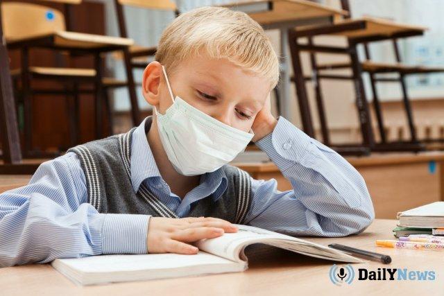 Ребенок заболел гриппом в Калужской области