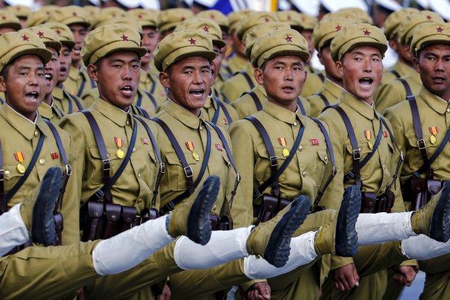 Крупный военный парад состоится в Северной Корее