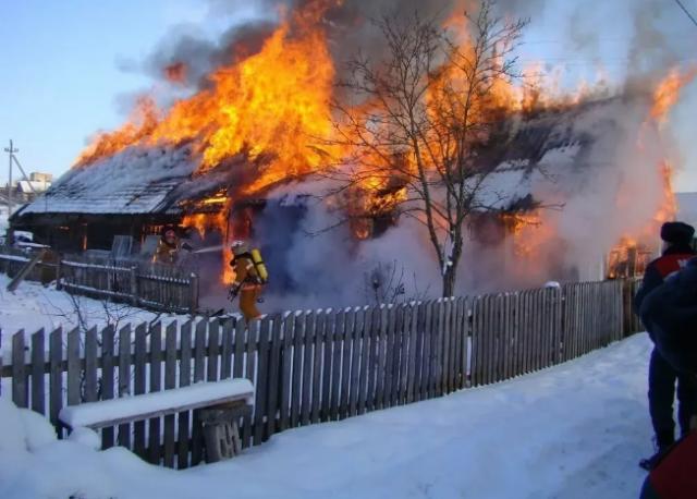 В Пензенском районе произошёл пожар с жертвами