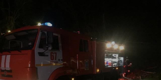 В районе Туапсе ввели режим ЧС из-за пожаров