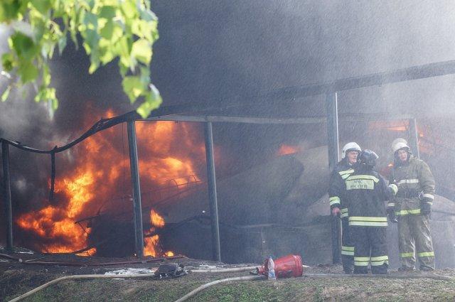 Пожары участились на дачных участках в Нижнем Тагиле