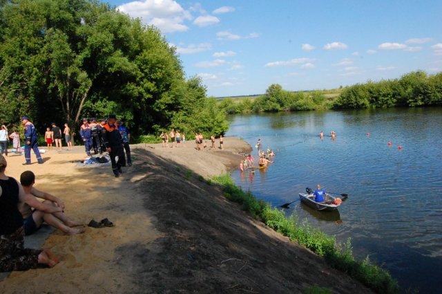 Подготовка к открытию пляжного сезона началась в Ельце