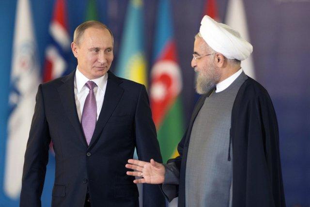 Глава России встретился с лидером Ирана