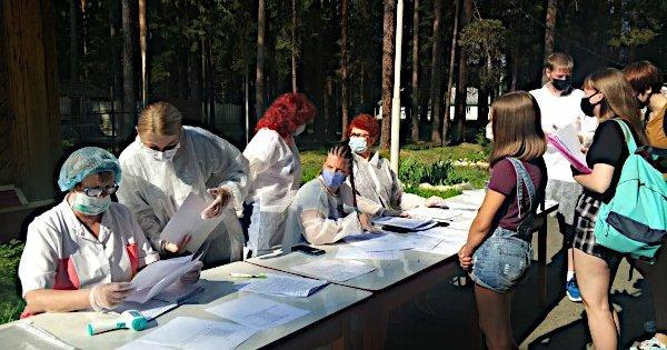 Массовое заражение коронавирусом зафиксировано в детском лагере в Ивановской области