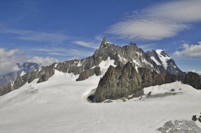 Огромный ледник может разрушиться в Италии из-за жары