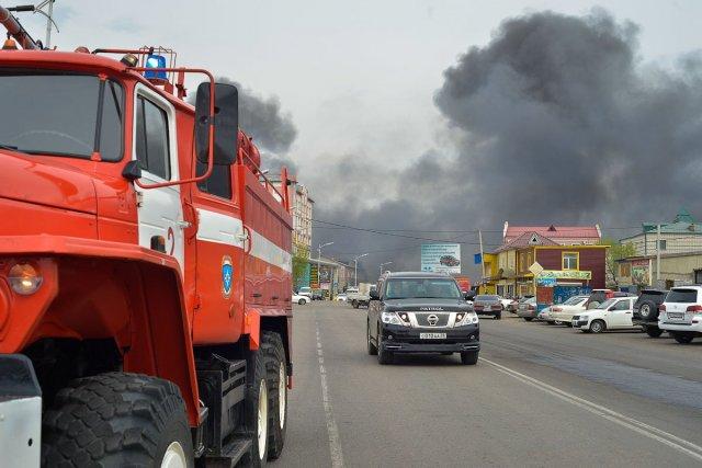 Возгорание газовой трубы произошло в Москве