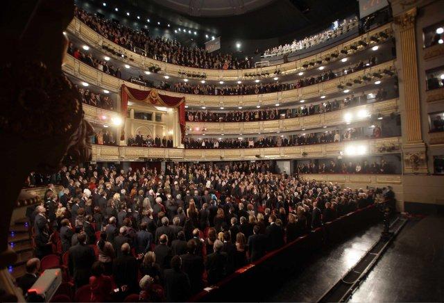 Опера в Мадриде была сорвана недовольными гостями