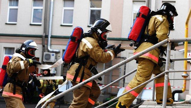 Пожар произошёл в детской клинической больнице в Москве
