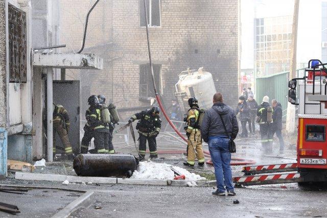 По факту пожара в больнице Челябинска возбуждено уголовное дело