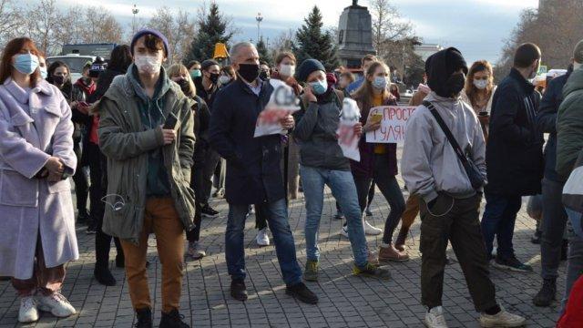 В Москве возбуждено дело по факту нарушения санитарных норм на митинге