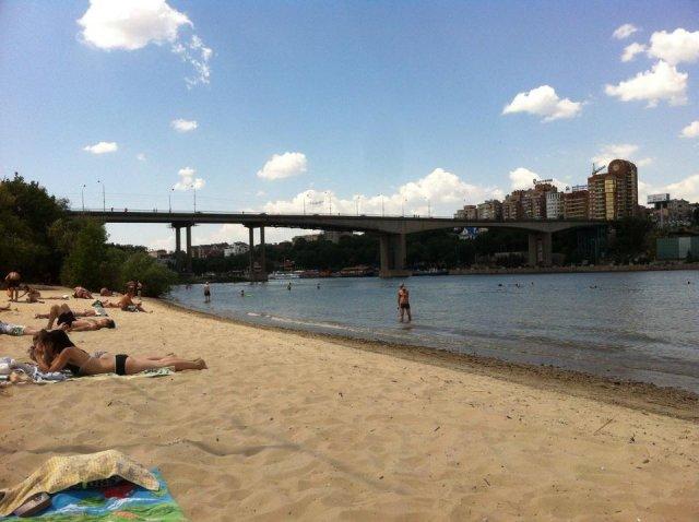 В Ростове к открытию к летнему сезону готовятся три официальных пляжа