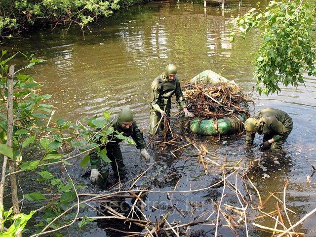 В Подмосковье будет реализован план по очистке водоемов